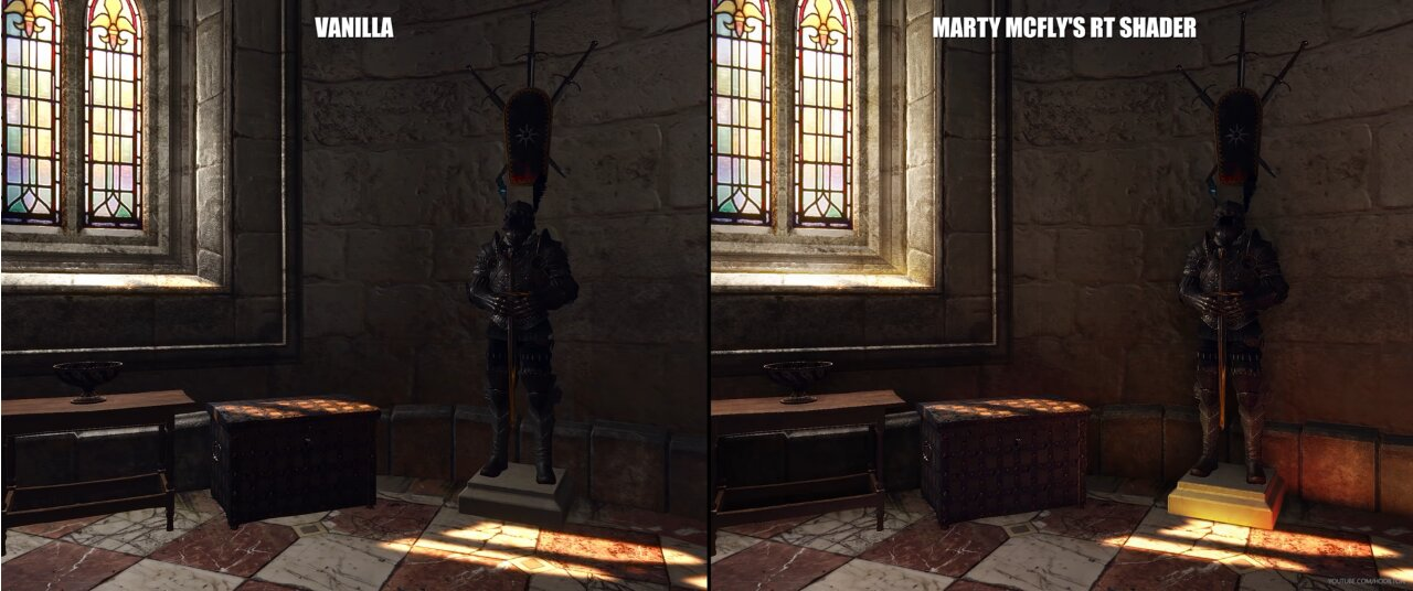 Image 2 : Vidéo : au tour de The Witcher 3 de s'essayer à l'illumination path tracing !