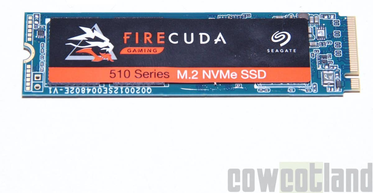 Image 1 : Test du SSD FireCuda 510 1 To signé Seagate