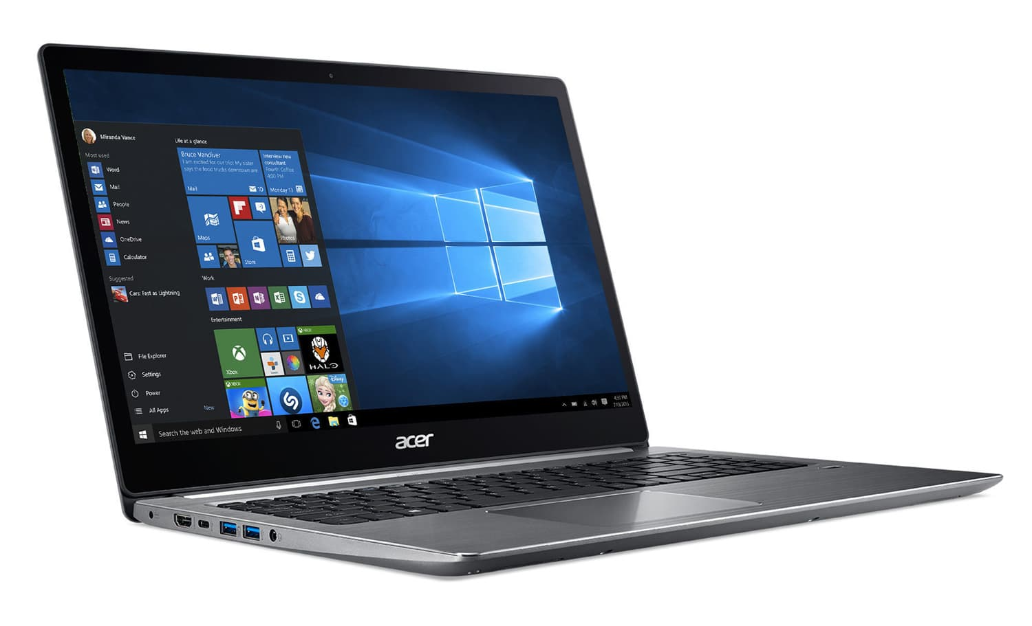 Image 1 : [Promo] L'ultrabook Acer Swift 3 SF315-51-54EZ à 450 €