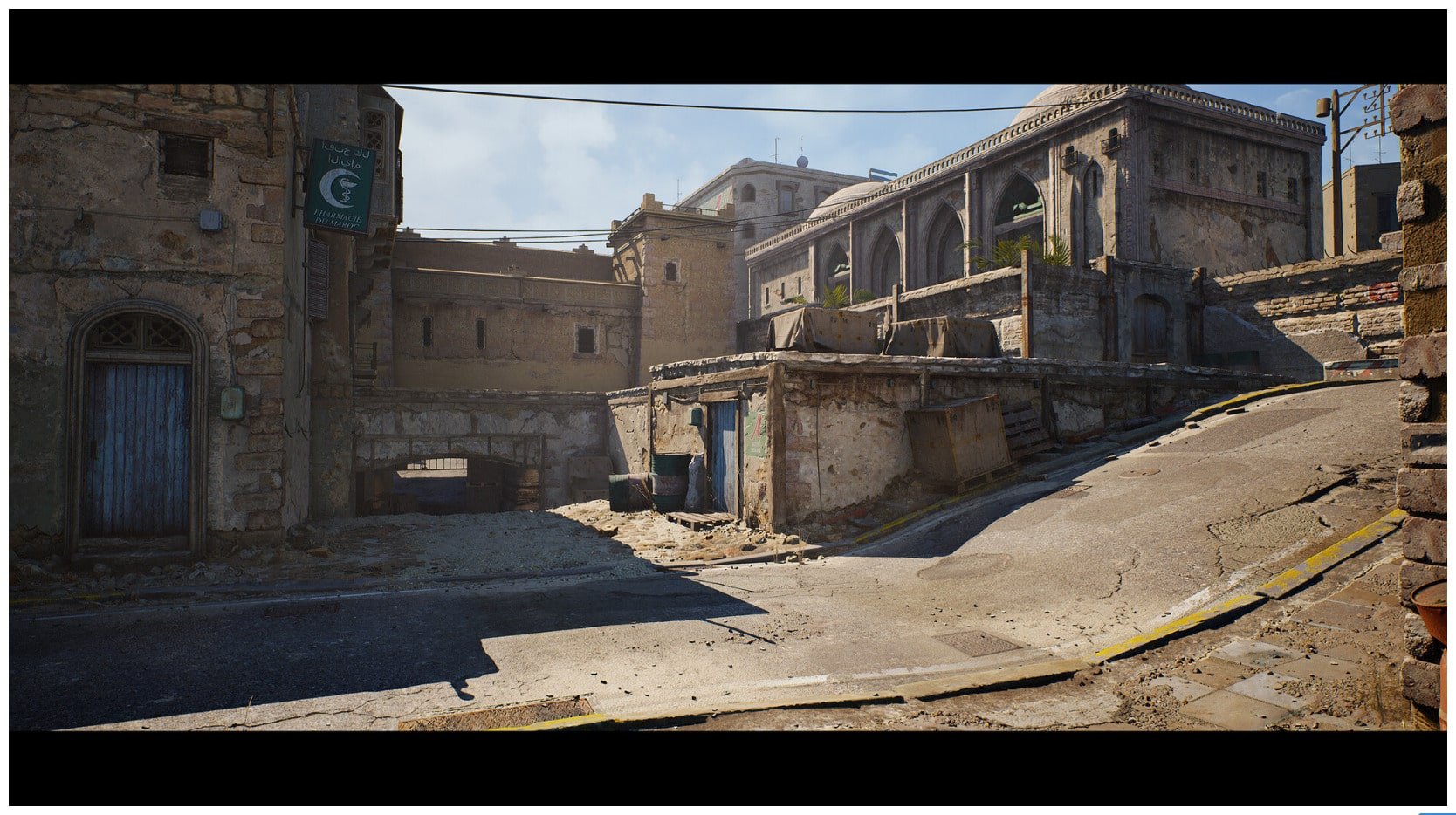 Vidéo : la mythique map Dust 2 de Counter Strike refaite