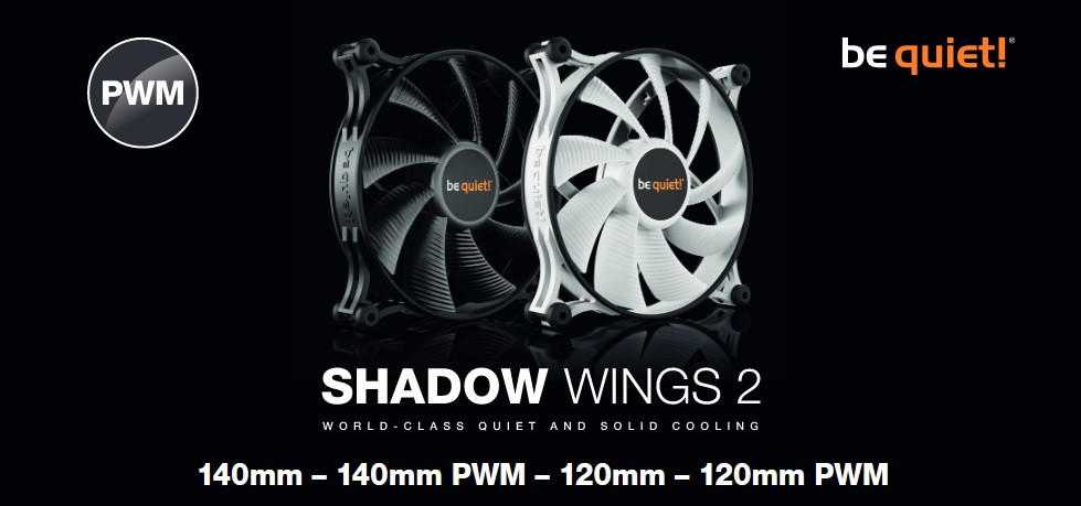 Image 3 : Be Quiet! : les ventilateurs Shadow Wings 2 se parent de blanc