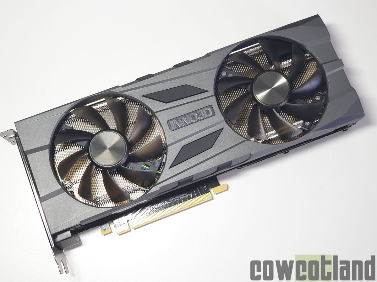 Image 1 : Test de la GeForce RTX 2070 Super Twin X2 OC signée Inno3D