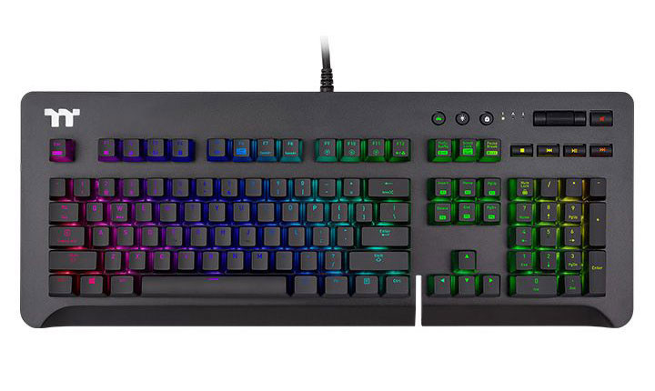 Image 1 : Thermaltake : un clavier Level 20 GT RGB avec trois types de switches