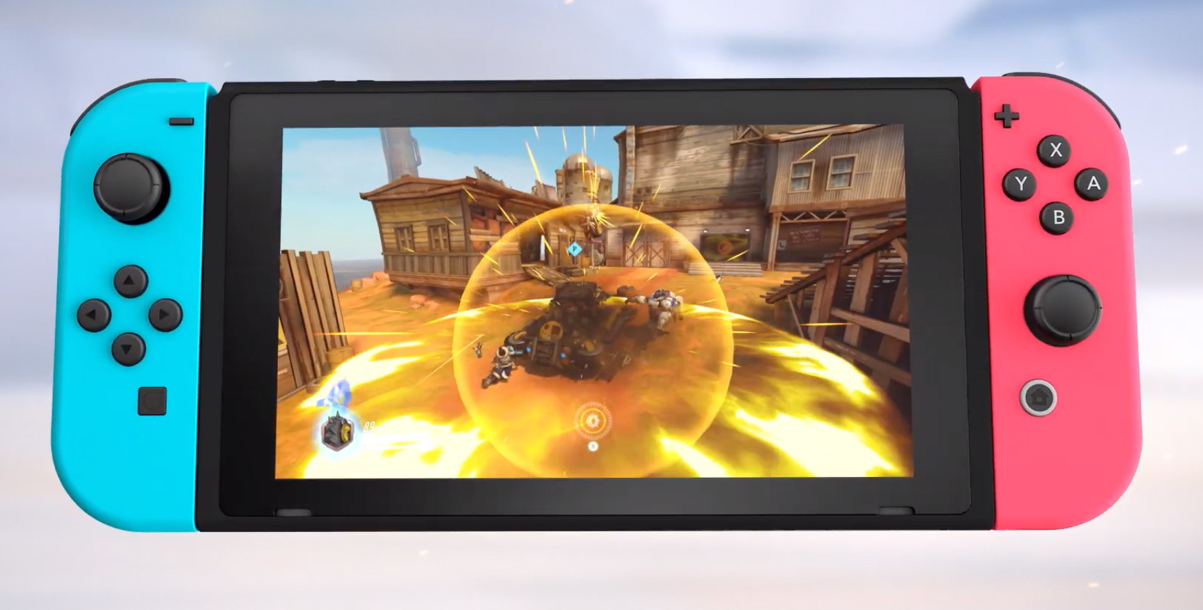 Image 1 : Overwatch limité à 30 ips sur Nintendo Switch !