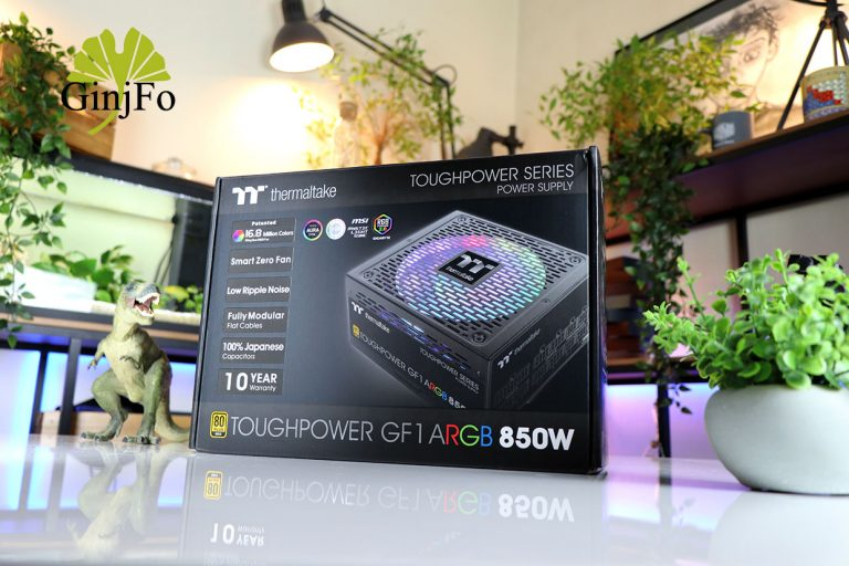 Image 1 : Test de l'alimentation Toughpower GF1 ARGB 850 W