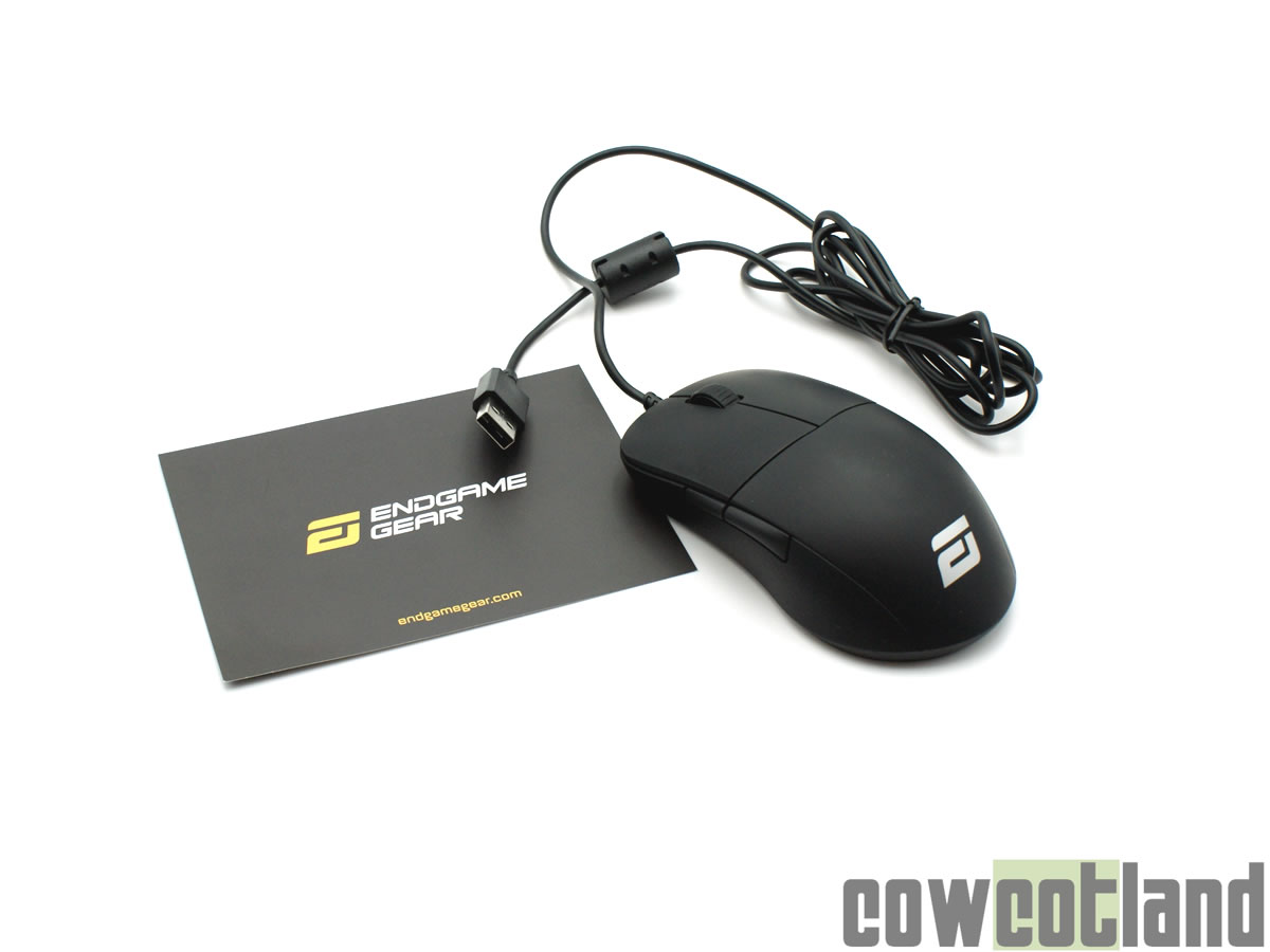 Image 1 : Test de la souris Endgame Gear XM1