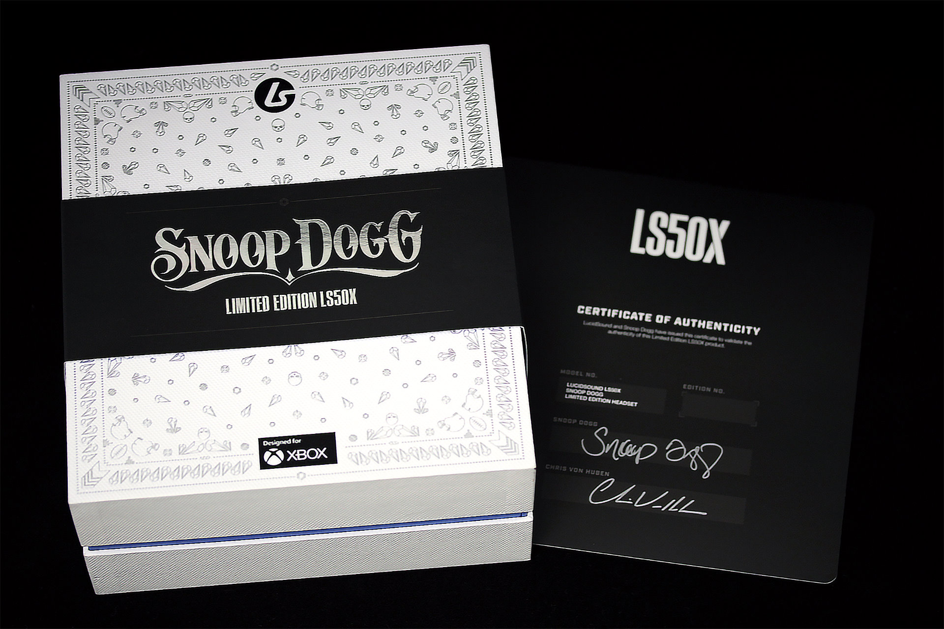 Image 2 : LucidSound assure que son casque gaming LS50X Snoop Dogg, c'est pas de la fumette