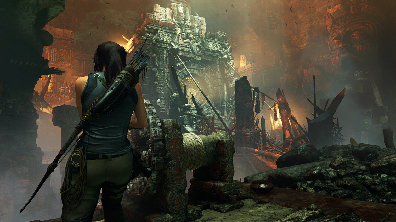 Image 1 : Le FidelityFX d'AMD débarque sur le jeu Shadow of the Tomb Raider