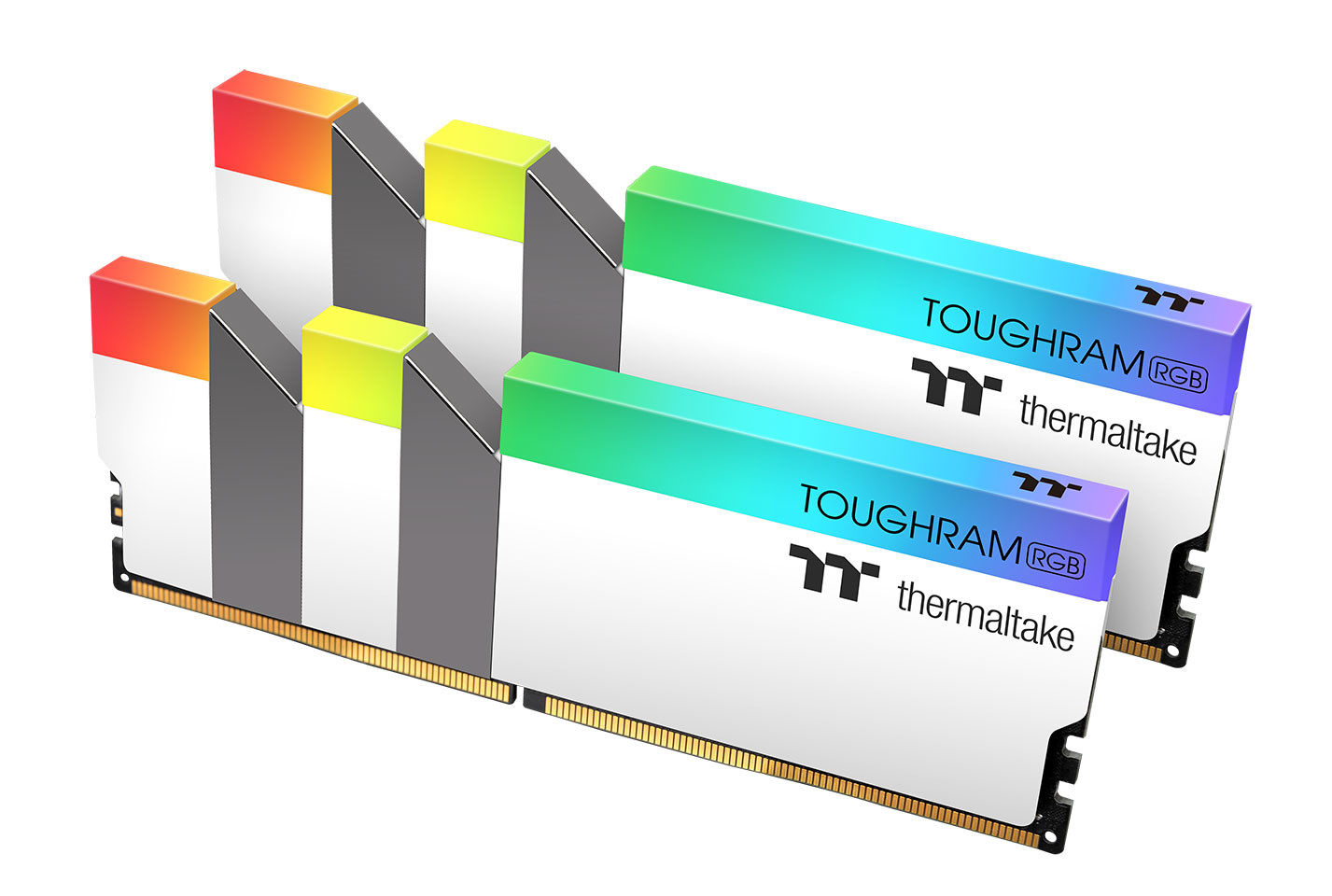 Image 1 : Thermaltake décline sa DRAM Toughram RGB en version blanche