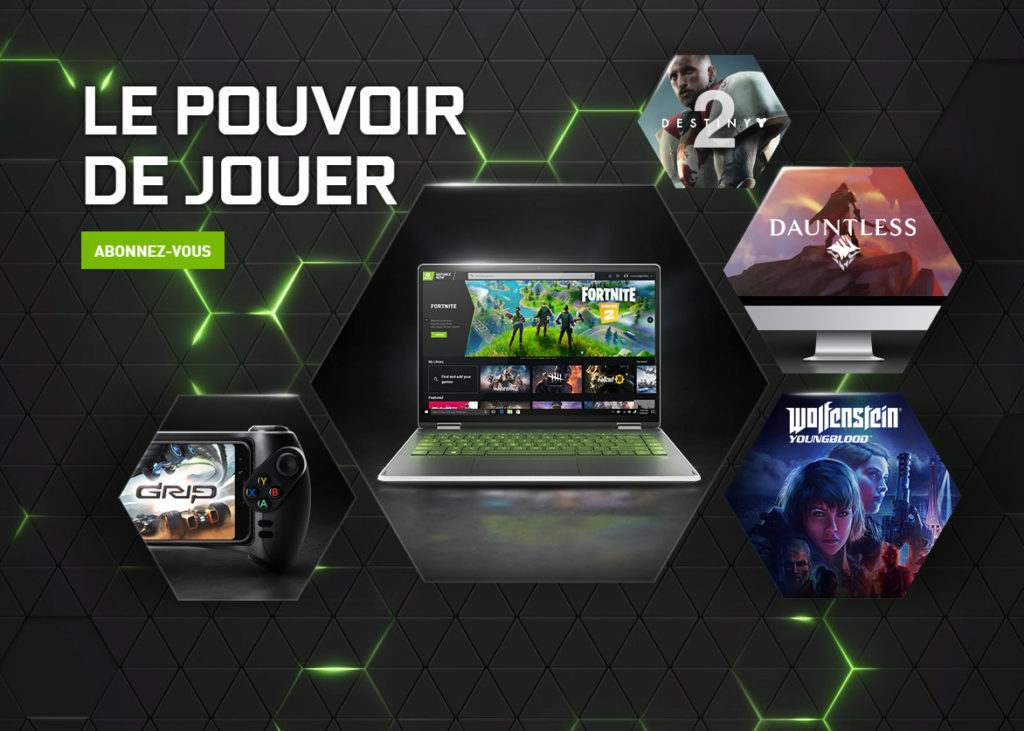 Image 1 : Nvidia lance GeForce Now, le cloud gaming de 0 à 5,49 euros par mois