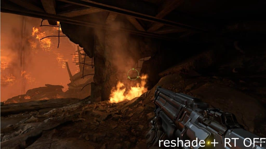 Image 1 : Doom Eternal : du path tracing via Reshade en vidéo