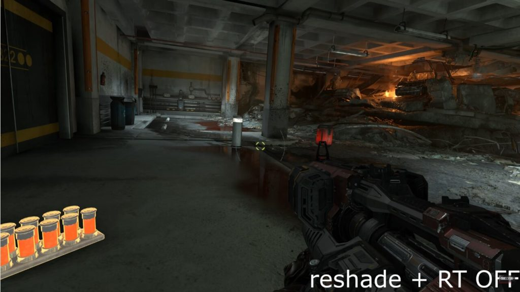 Image 5 : Doom Eternal : du path tracing via Reshade en vidéo