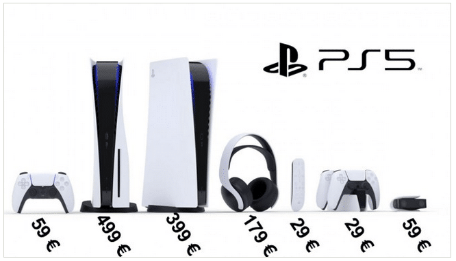 Image 1 : La Playstation 5 Digital Edition à 399 euros, la version Blu-Ray à 499 euros ?