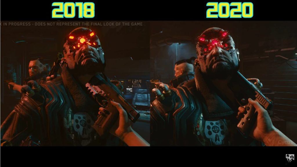 Image 1 : La version 2020 de Cyperpunk 2077 comparée à celle de 2018 : downgrade ou pas ?