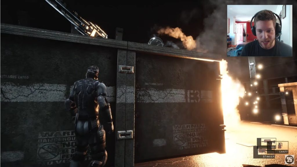 Image 1 : Un impressionnant remake de Metal Gear Solid sous Unreal Engine 4