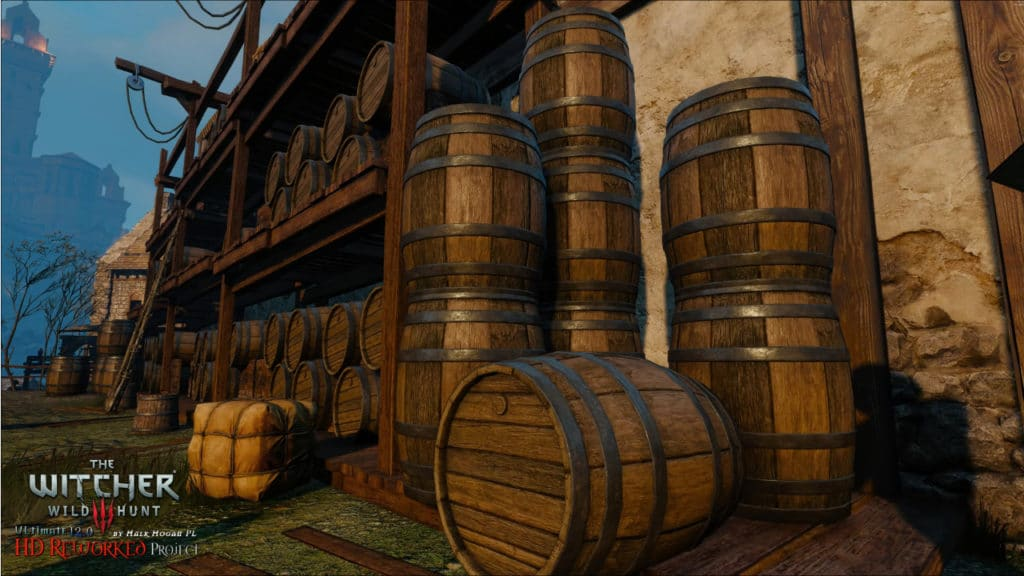 Image 1 : Une nouvelle vidéo pour The Witcher 3 HD Reworked Project version 12