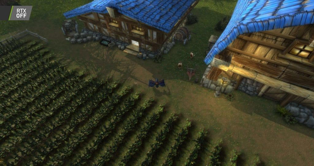 Image 9 : Comparaison RTX On / Off sur World of Warcraft Shadowlands