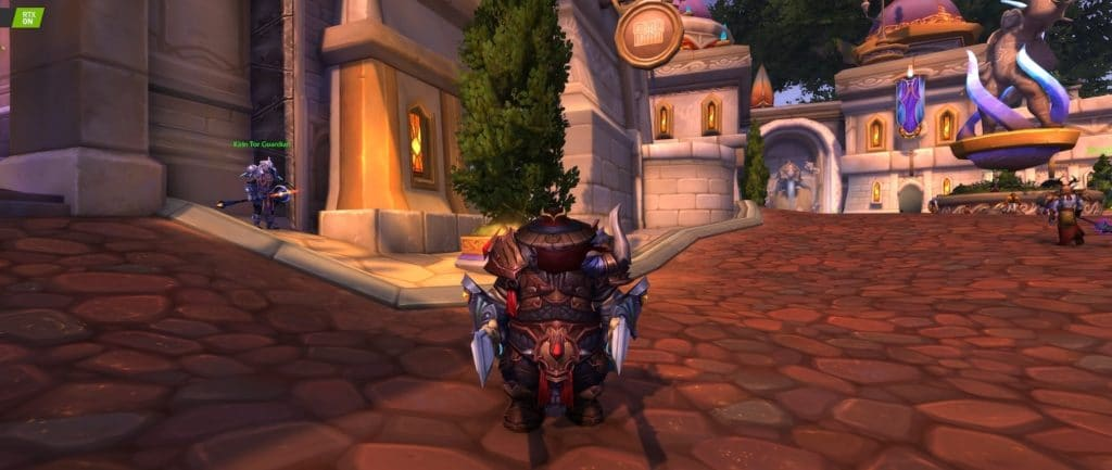 Image 12 : Comparaison RTX On / Off sur World of Warcraft Shadowlands