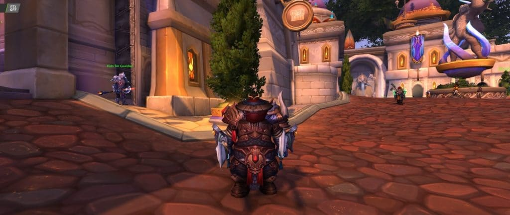 Image 11 : Comparaison RTX On / Off sur World of Warcraft Shadowlands