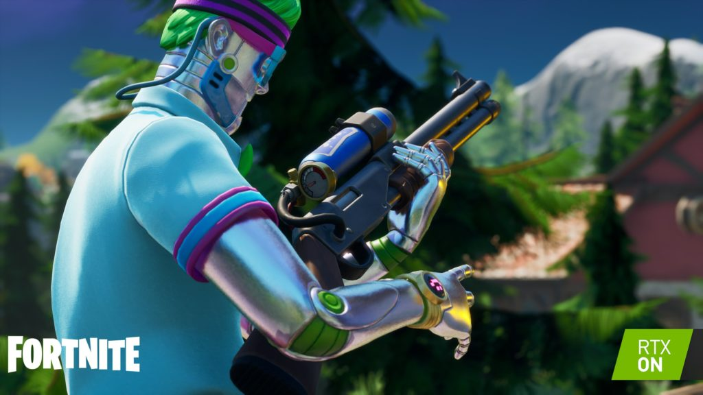 Image 4 : Fortnite se met au ray tracing RTX de NVIDIA