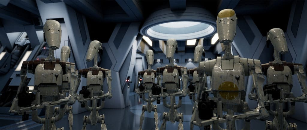 Image 4 : Un splendide remake de Star Wars Episode 1 : La Menace Fantôme sous Unreal Engine 4