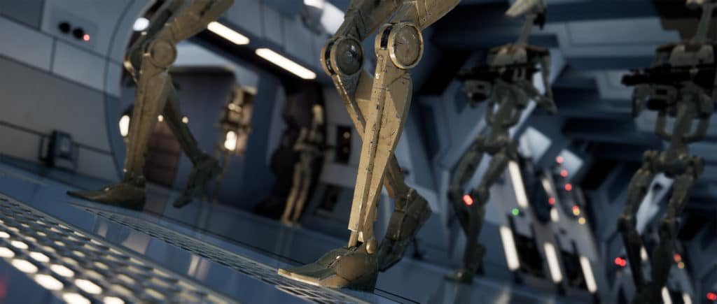 Image 6 : Un splendide remake de Star Wars Episode 1 : La Menace Fantôme sous Unreal Engine 4