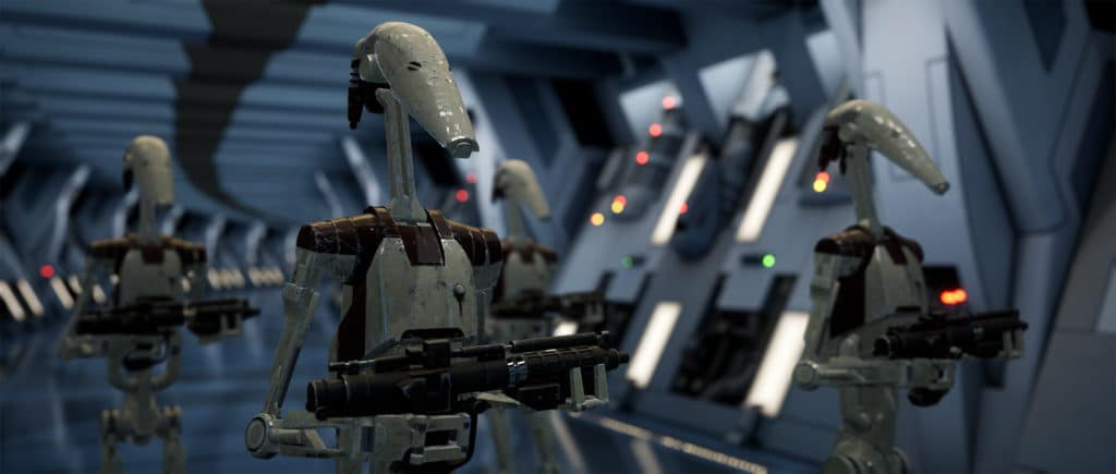 Image 5 : Un splendide remake de Star Wars Episode 1 : La Menace Fantôme sous Unreal Engine 4