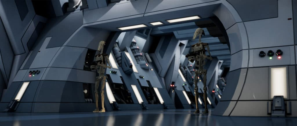 Image 7 : Un splendide remake de Star Wars Episode 1 : La Menace Fantôme sous Unreal Engine 4