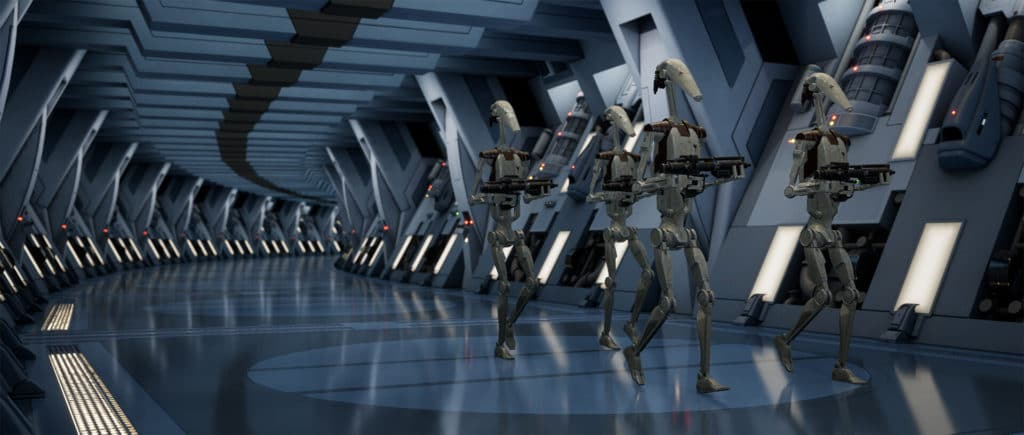 Image 1 : Un splendide remake de Star Wars Episode 1 : La Menace Fantôme sous Unreal Engine 4