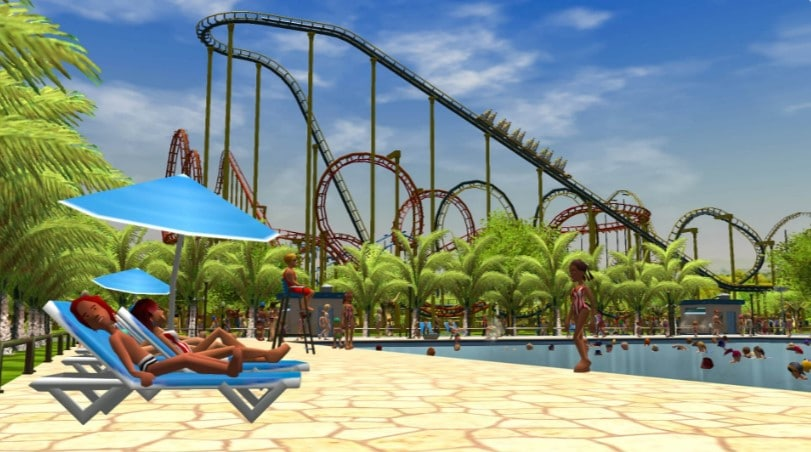 Image 2 : RollerCoaster Tycoon 3 Complete Edition gratuit sur l'Epic Games Store