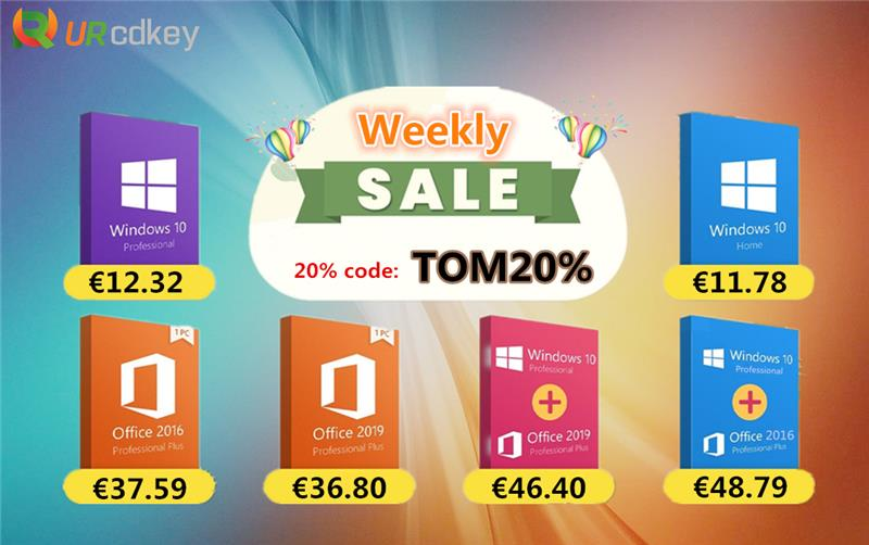 Urcdkey Windows10 promotion