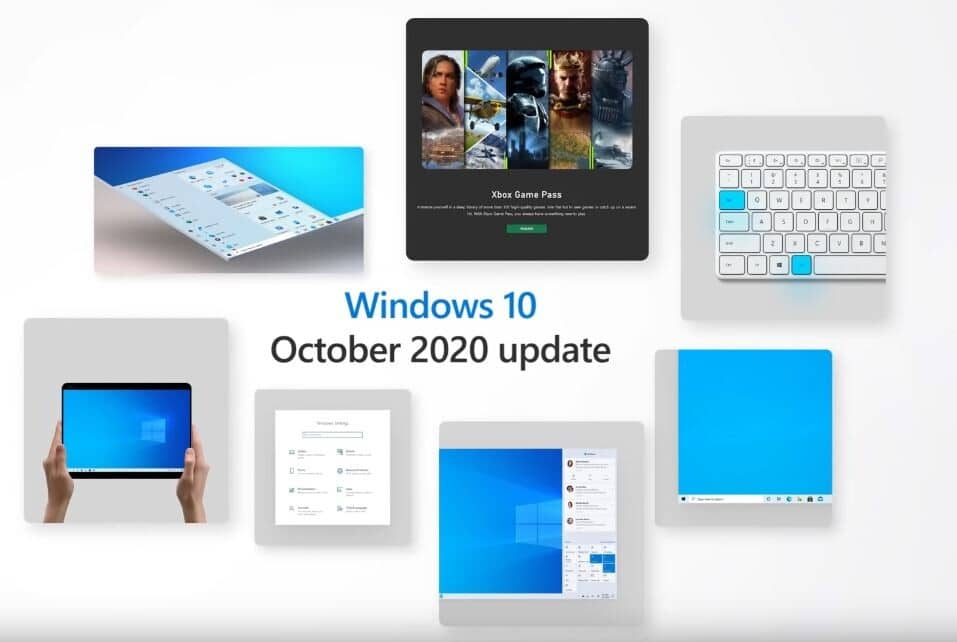 Image 1 : Microsoft commence le déploiement de la Windows 10 October 2020 Update