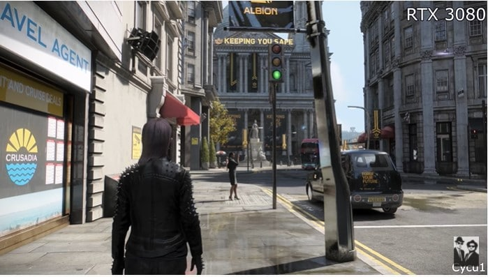Image 2 : Watch Dogs Legion : le ray tracing de la version Xbox Series X comparé à celui de la version PC