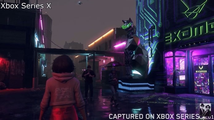 Image 3 : Watch Dogs Legion : le ray tracing de la version Xbox Series X comparé à celui de la version PC