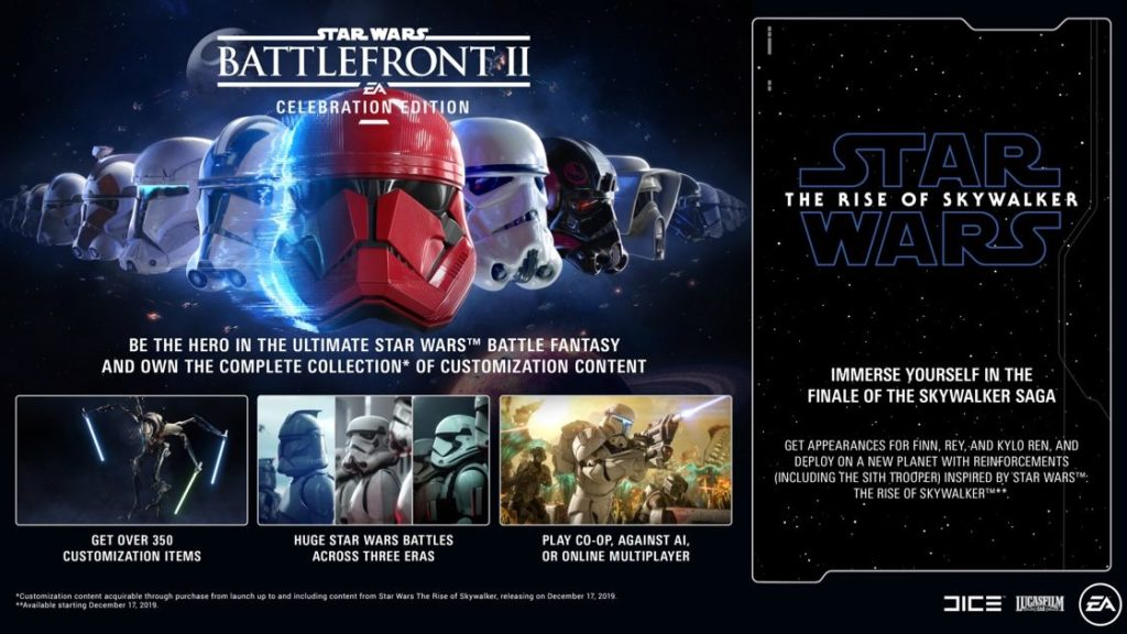 Image 1 : Star Wars Battlefront II : Celebration Edition est gratuit sur l'Epic Games Store