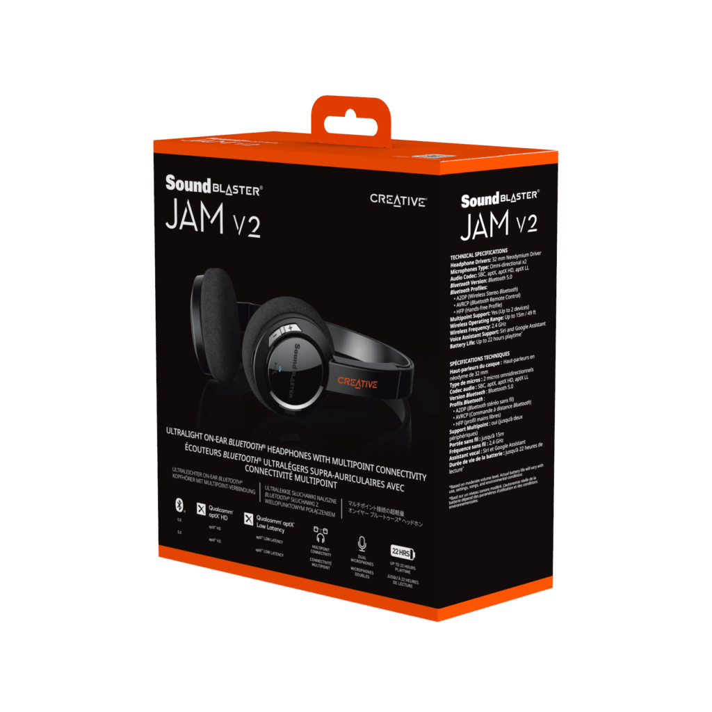 Image 3 : Creative Technology lance son casque Sound Blaster JAM V2