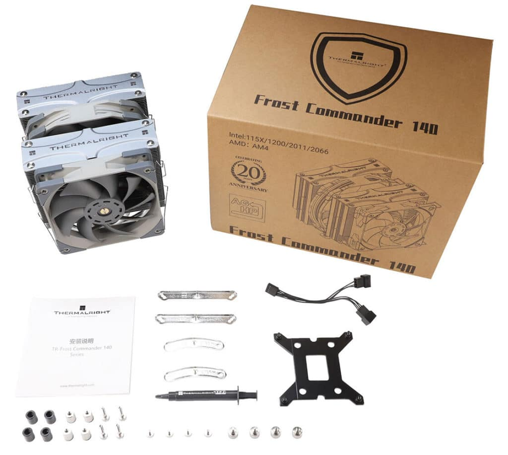 Image 5 : Thermalright dévoile son ventirad Frost Commander 140