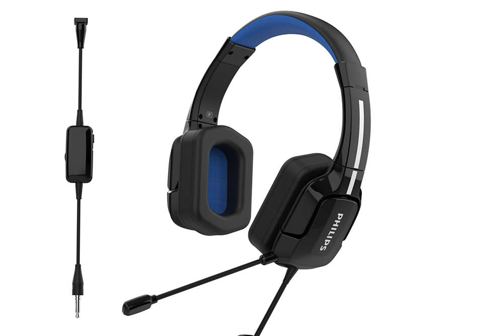 Image 1 : Philips lance ses deux premiers micro-casques gaming