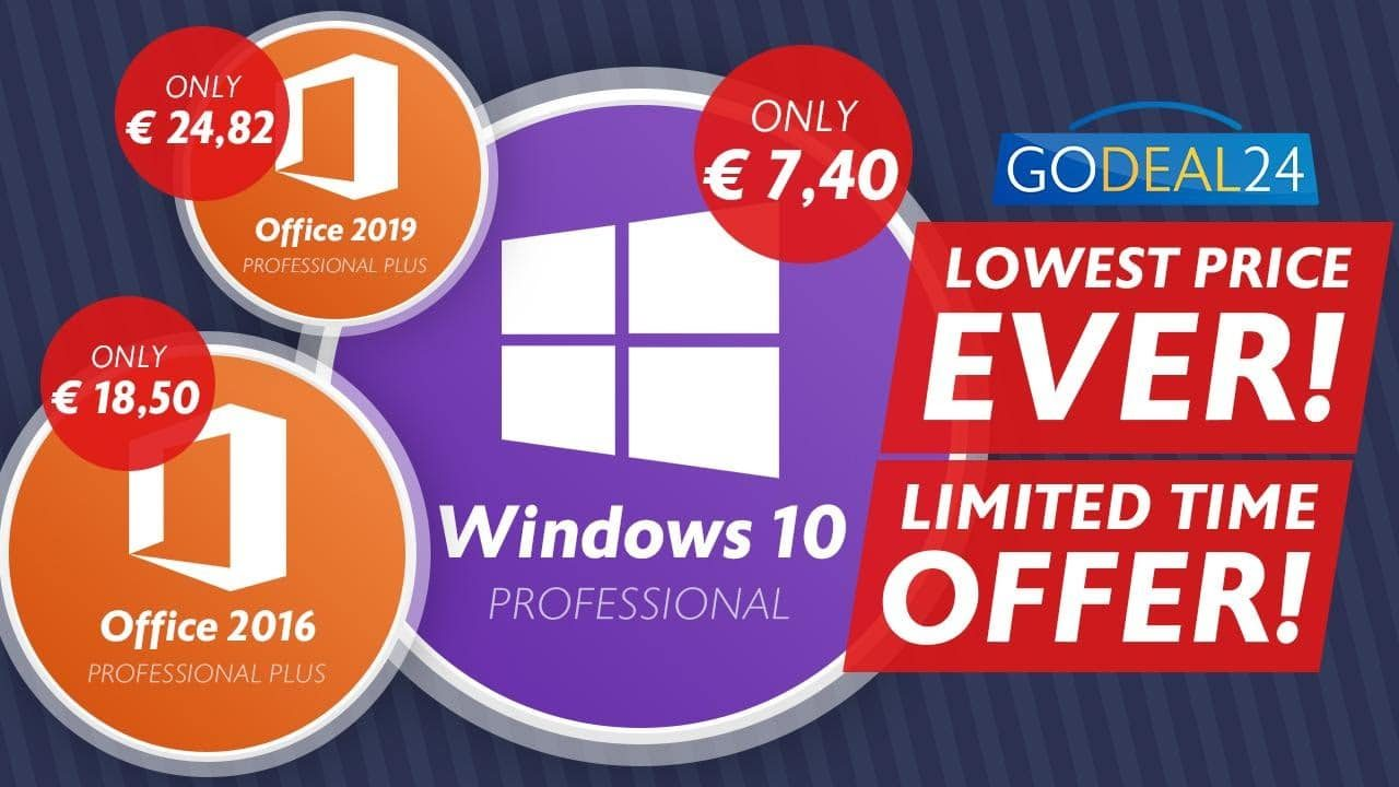 Godeal24 promo Windows10