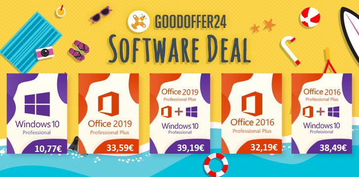 Promo Windows et Office