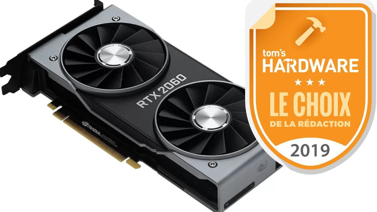 Image 1 : Test : GeForce RTX 2060, ray tracing et DLSS à prix abordable ?
