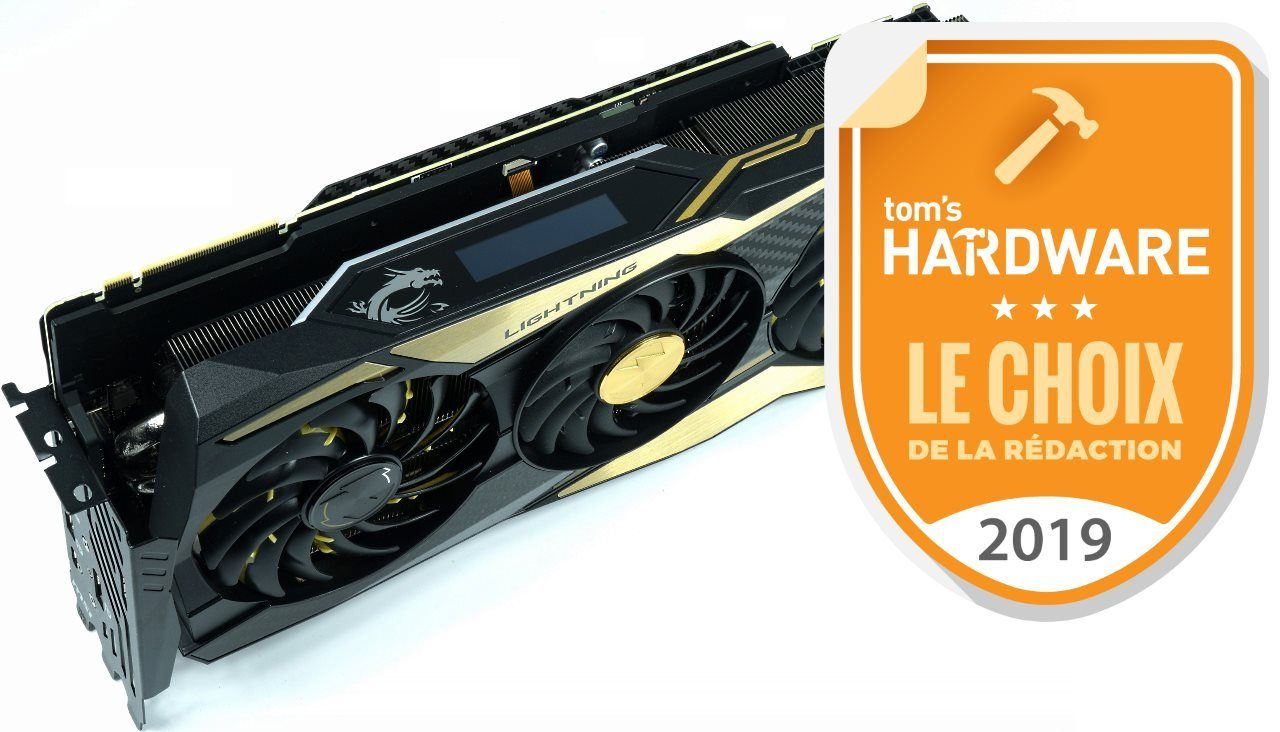 Image 2 : Test : MSI GeForce RTX 2080 Ti Lightning Z, la carte de tous les superlatifs
